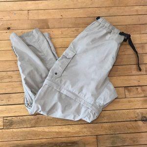 REI Convertible recreational pants Sz L